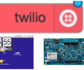 Garden Monitor & Control System Using Intel Edison, Node-Red & Twilio