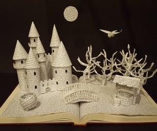 Book Diorama Made From a Book