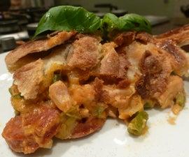 Chicken Pot Pie with Chorizo