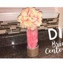 DIY FLOWER BALL CENTERPIECE
