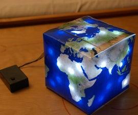 Cube Globe Lamp