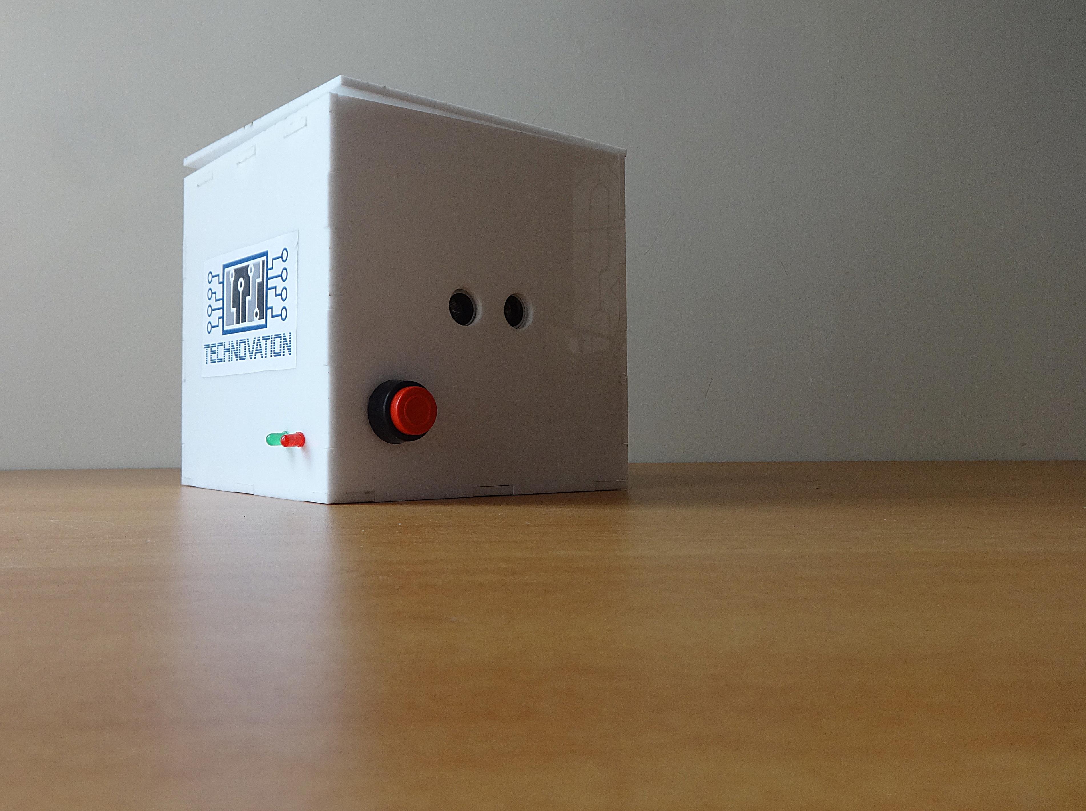 Picture of CUBEX - an Arduino Sensor Safe