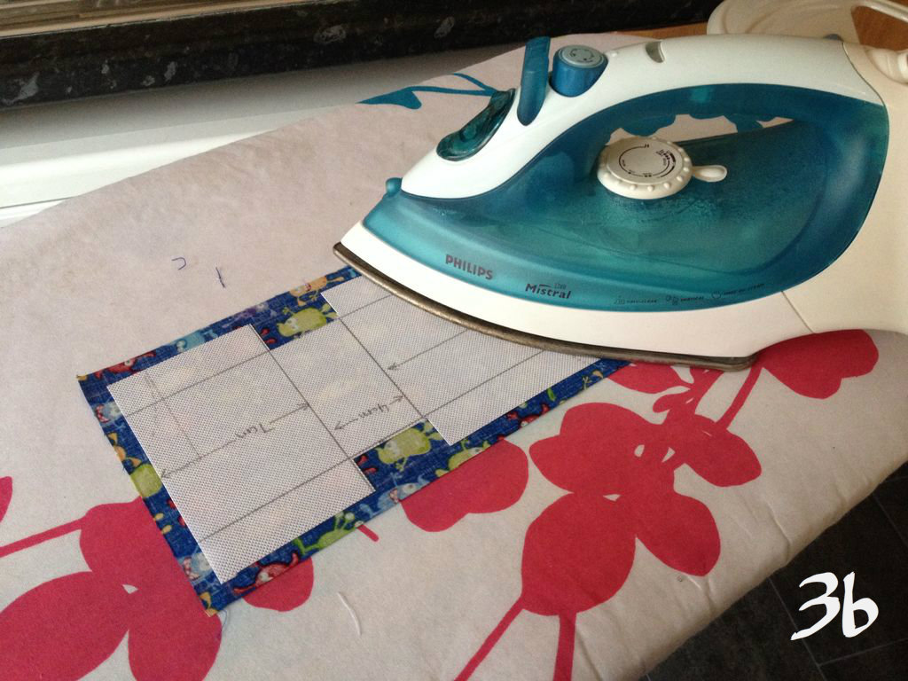 Picture of Adding the Interfacing, Preparing the Fabric