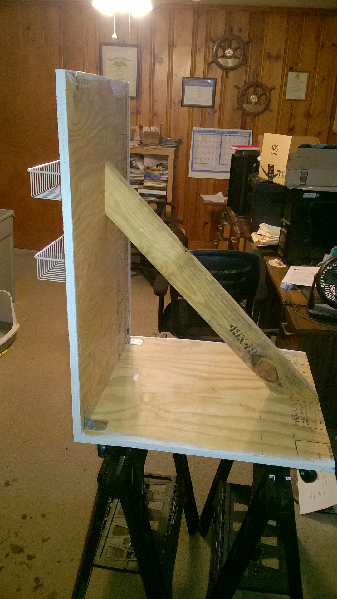 Picture of Add the 2X4 Brace