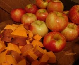 Sweet Potato and Apple Treat