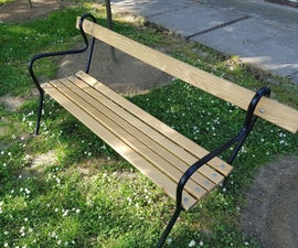 Restoring 20 Years Old Bench