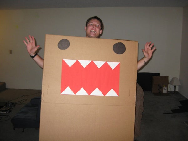 Domo-kun Halloween Costume