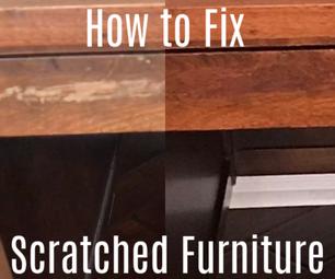 How to Fix Scratches in Furniture