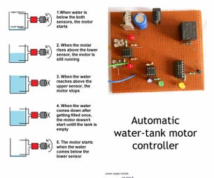Automatic Water-Tank Motor Controller