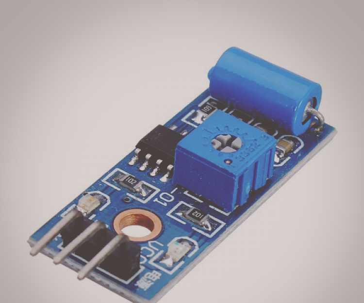SW-420 Vibrationssensor Modul LM393 Vibration Sensor Raspberry Pi Arduino Tilt