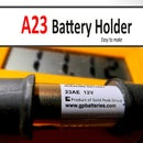 How to make A23 (23AE) Battery Holder for your tiny projects