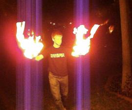 Flaming hands