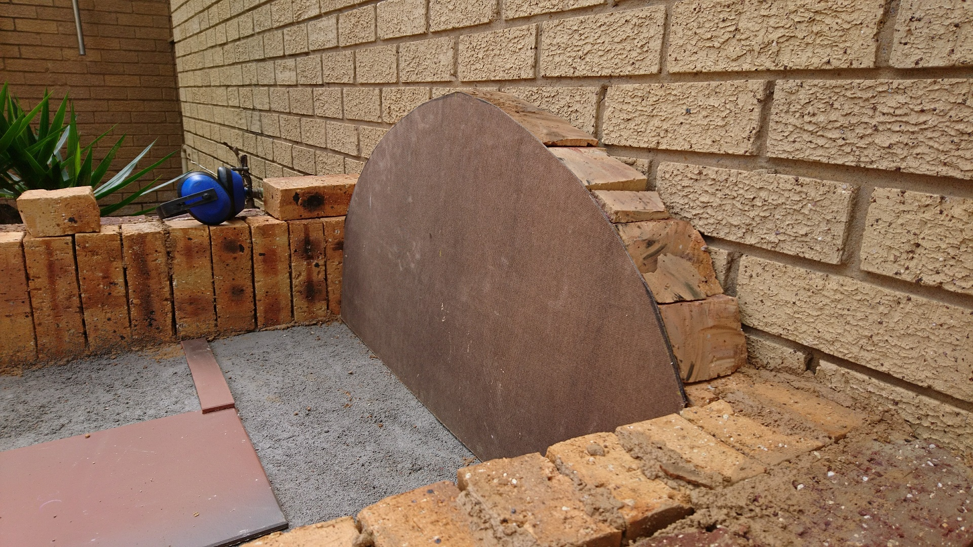 Picture of Continuing the Oven Walls