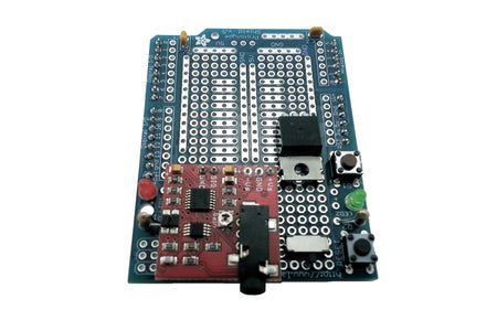 [Muscle Sensor Shield] Solder the +5V Regulator