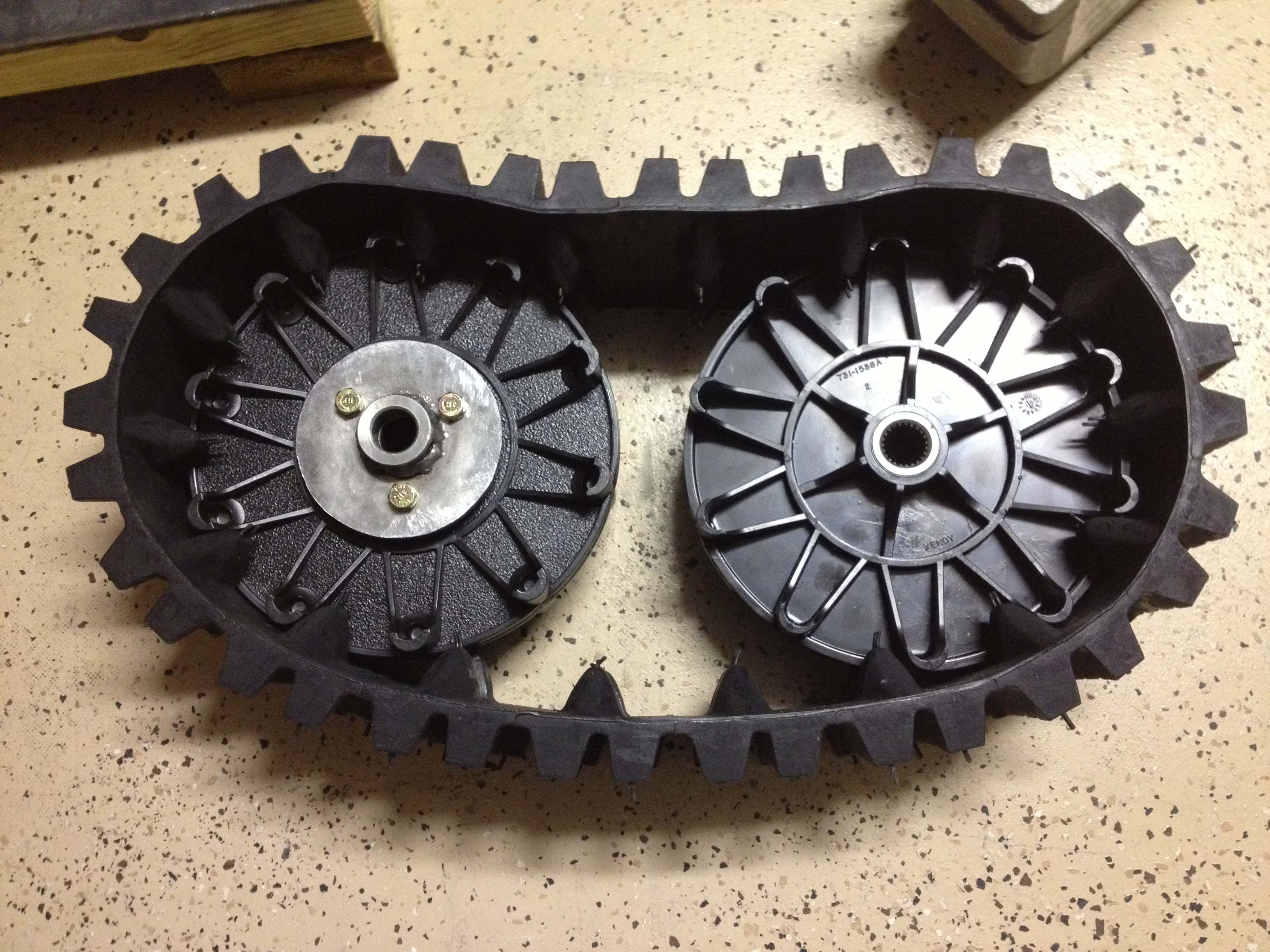 Picture of Track & Drive Wheels