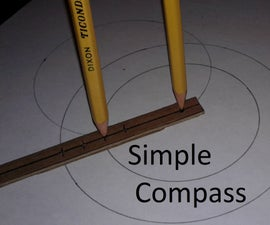 Simple Compass (for Drawing Circles)