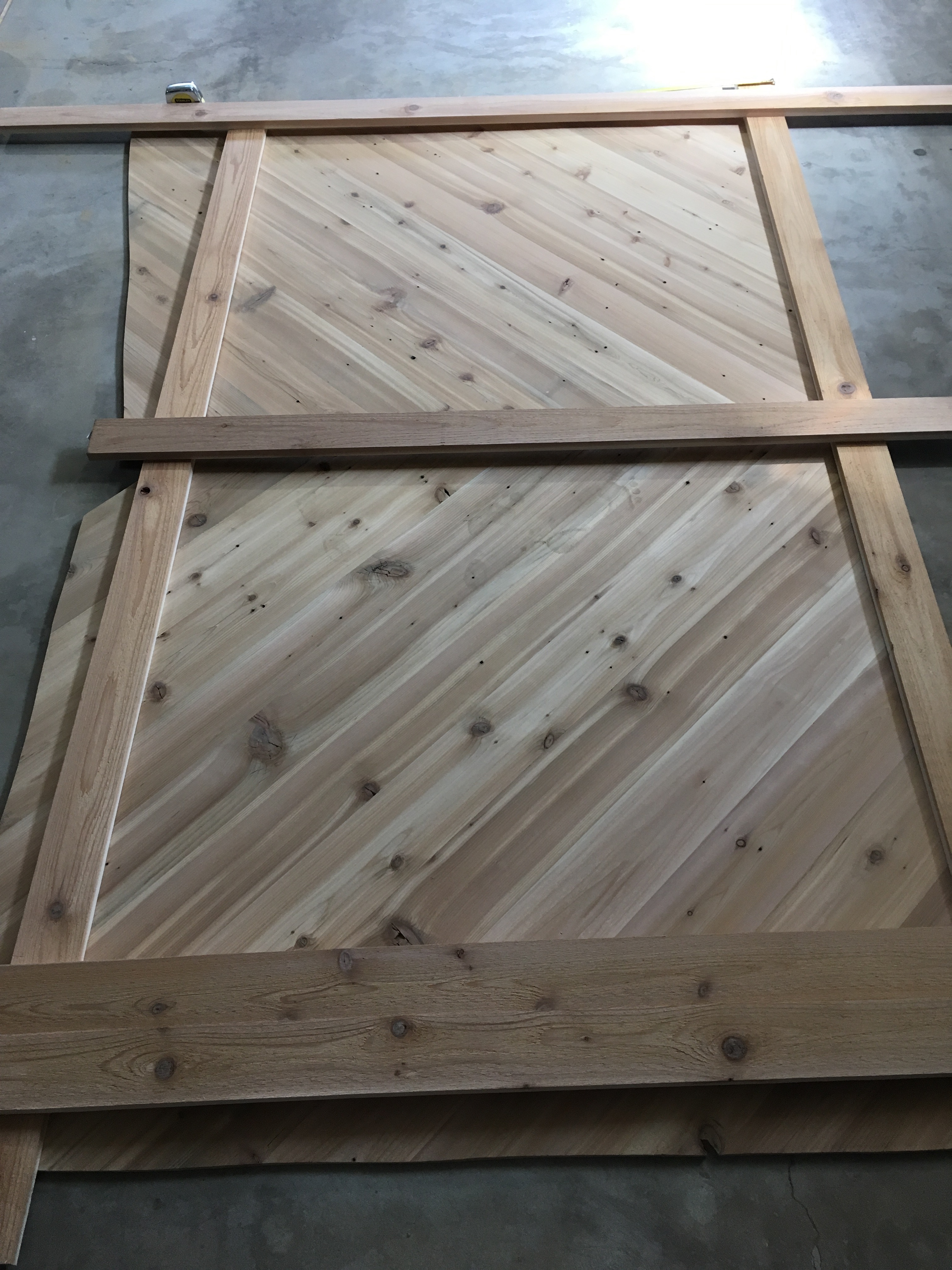 Picture of Cut Out Panels & Sand