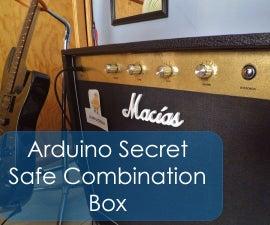Arduino nano Secret Safe Combination Box Amp Style