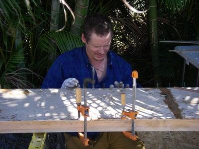 Glue the Decks on the Gunwales