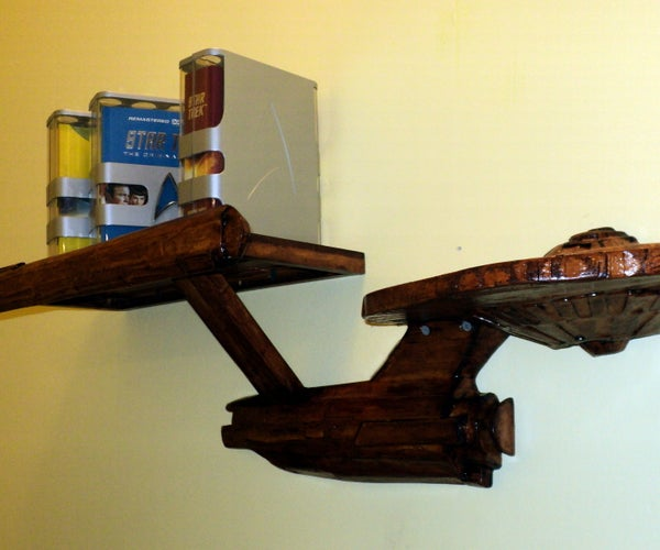 Star Trek Enterprise Composite Shelf