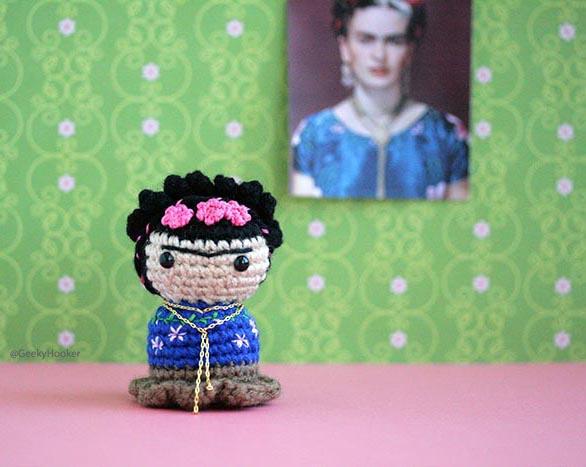 Picture of Little Frida Kahlo!