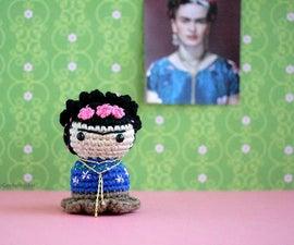 Little Frida Kahlo!