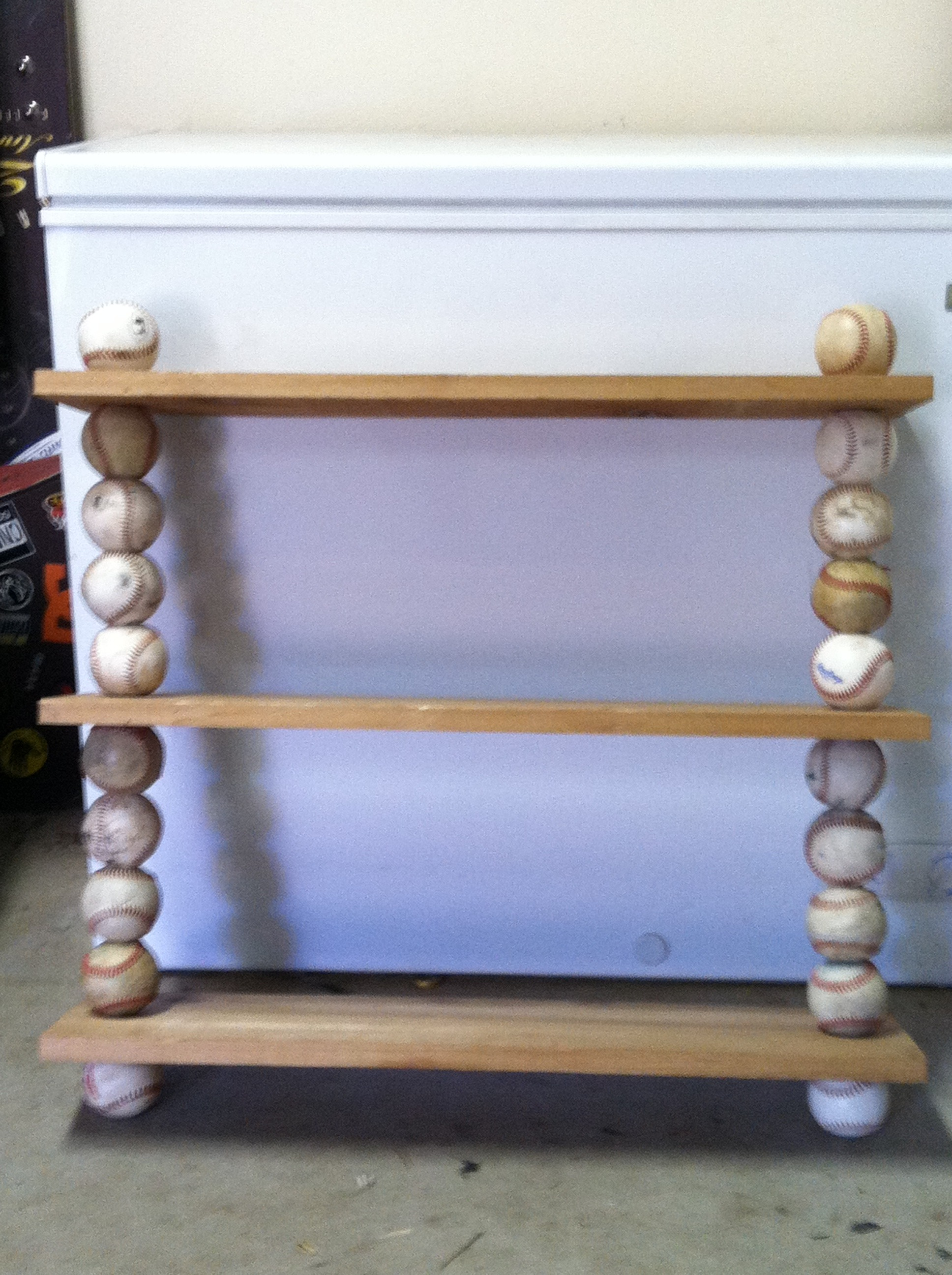 Picture of Baseball Shelf