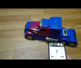 Automobile Toy Revival With Esp8266