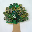 Artwork from Cell Phone PCB