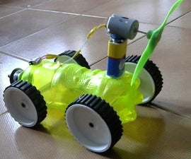 DIY AIR POWERED CAR