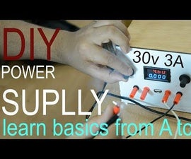 30v 3 a Powerfull Power Supply  With a Complet Digram and Explanation