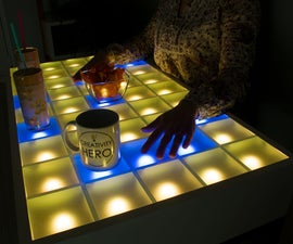 DIY Interactive LED Coffee Table
