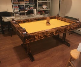 Hi-Contrast Gaming Table