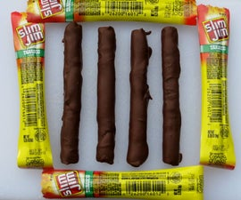XXtra Spicy Chocolate Covered Slim Jim's