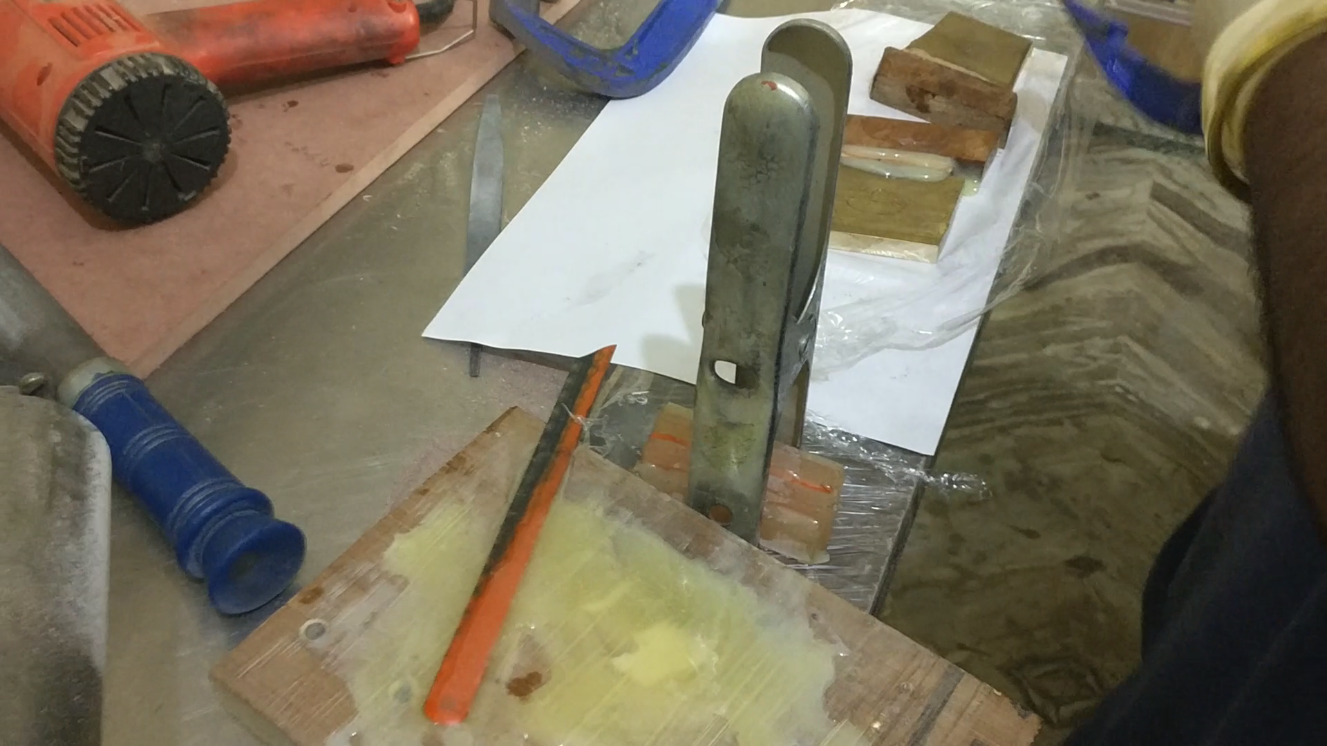 Picture of Making the Composite Handle