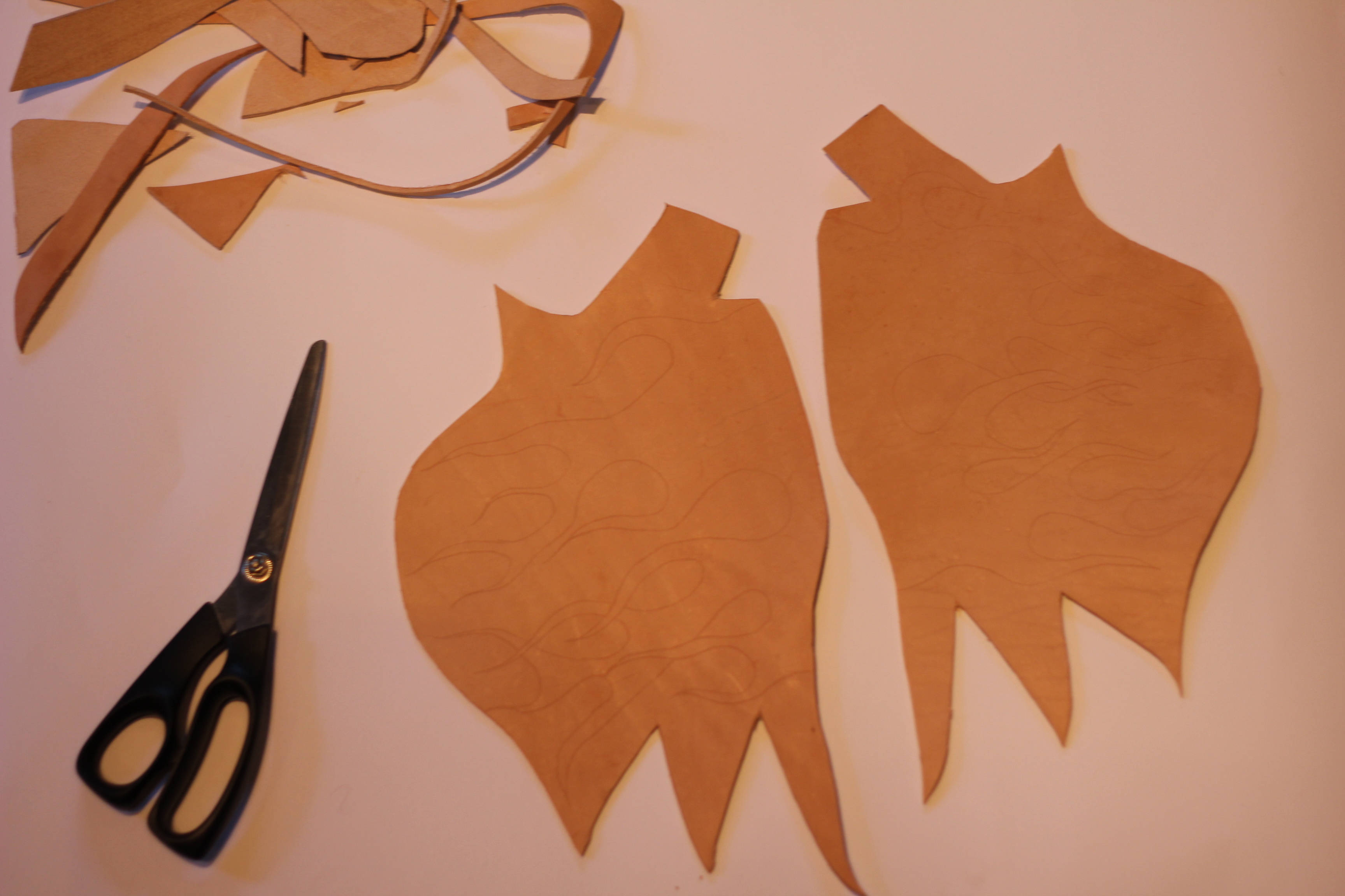 Picture of Cutting Out the Template