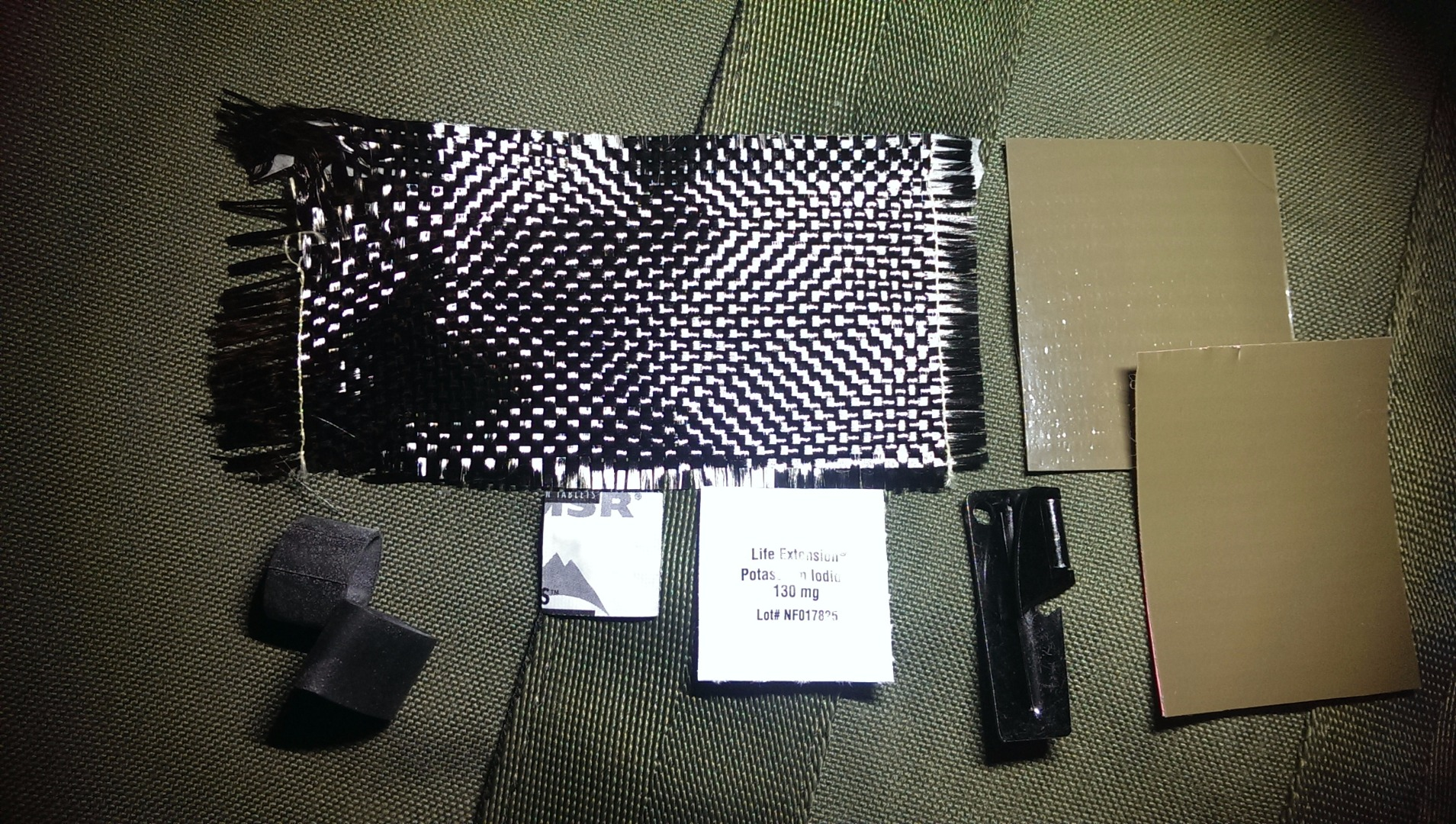 Picture of Collect and Review Survival Items.