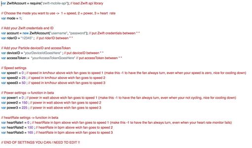 Edit the Javascript File