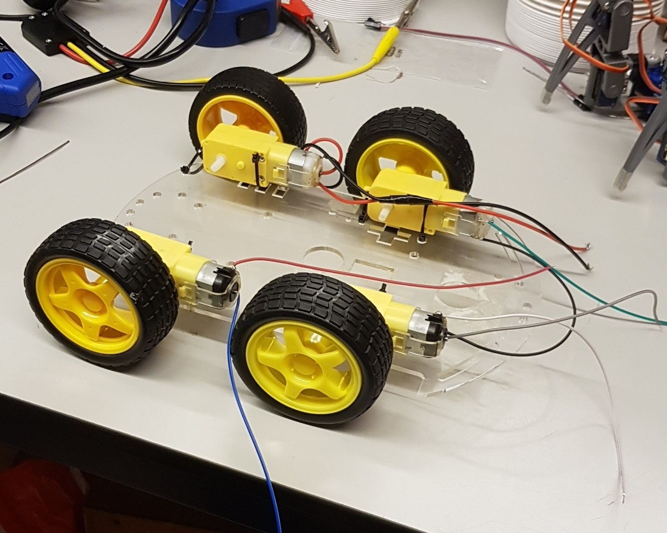 Picture of Wheels and Baseplates