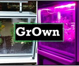 GrOwn - A Solar Powered Arduino Garden
