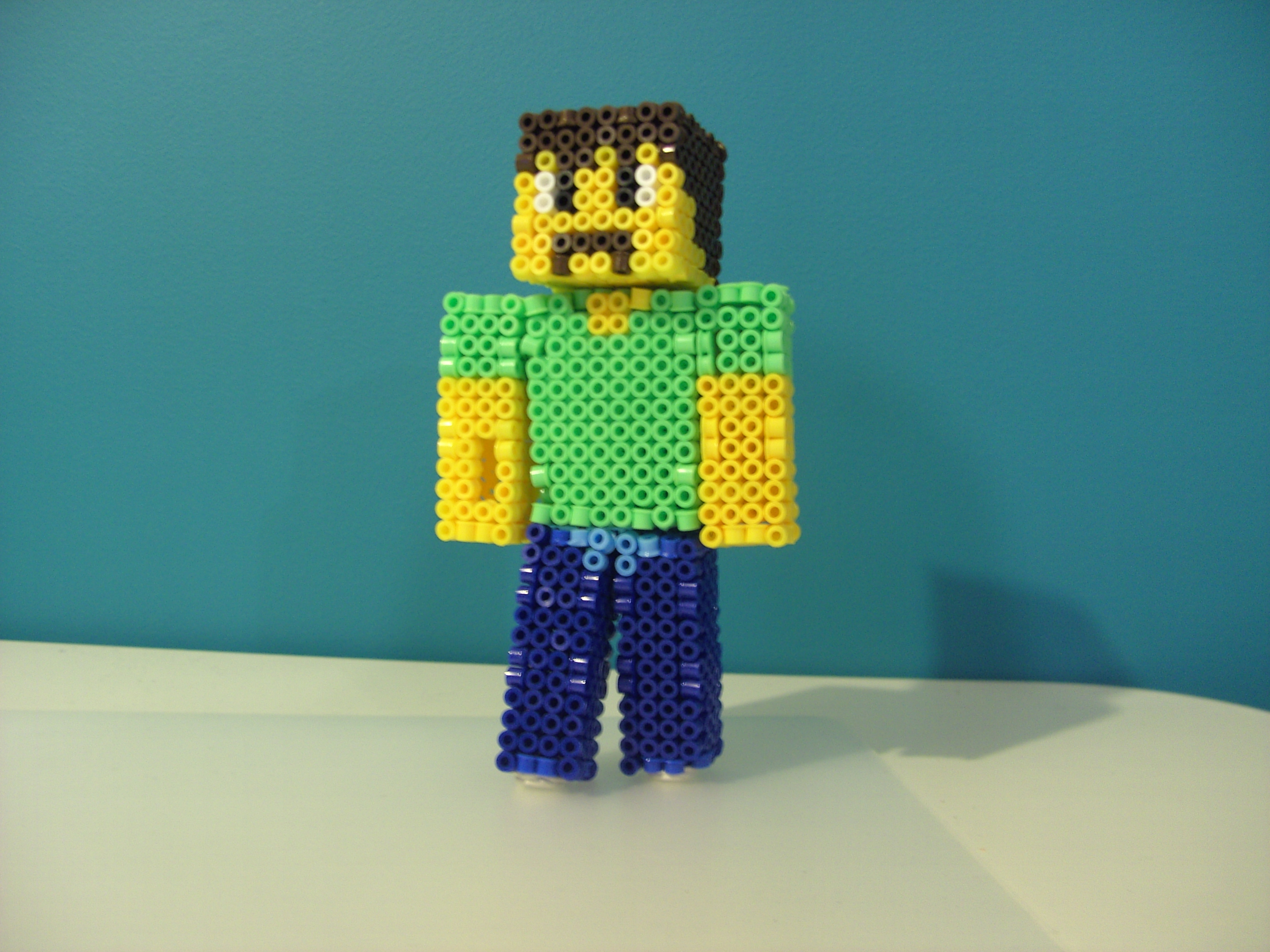 Picture of Perler Beads Minecraft Skin