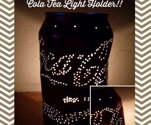 Coca Cola Tea Light Holder