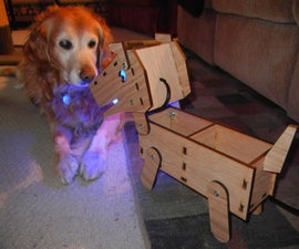 Doggy Lamp/Desk Organizer