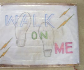 Electricity from walking