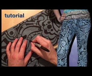 WIKarts: How to Decorate Denim Jeans (or Jackets, Dresses, Etc...)