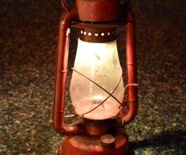 Flickering Lantern for Halloween