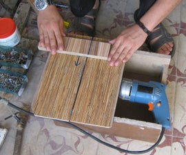 Cut Wood and Metal With Drill