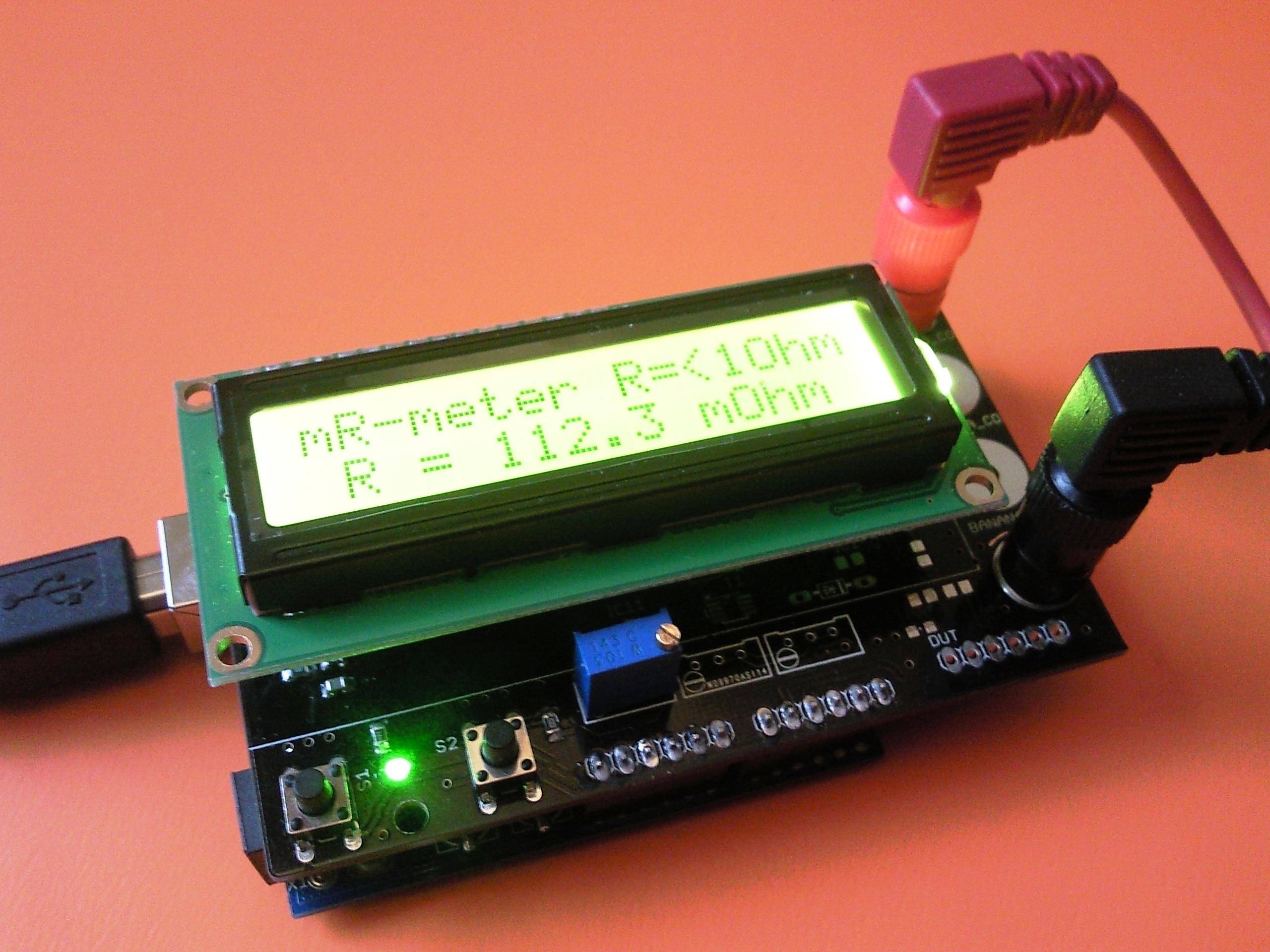 Picture of Miliohm-meter Arduino Shield - Addendum