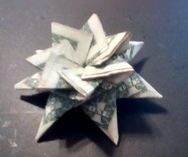Moneygami Star for Gift Giving