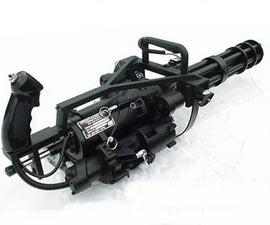 Pineapplebobthegreat's M.M.G. (Minigun/Machine Gun)